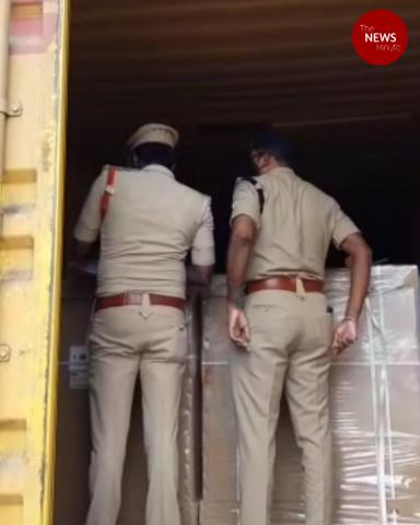 AP's dramatic heist: Thieves steal Rs 80L worth electronics from moving container