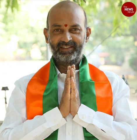 How Bandi Sanjay, BJP's Telangana chief, has polarised the Hyderabad Municipal Elections
