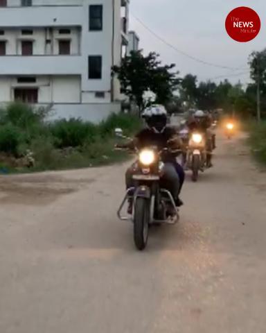 Hyderabad women bikers create awareness to help women learn how to ride bikes