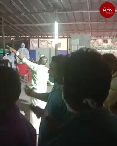 COVID-19 patients at Kerala govt hospital protest unhygienic conditions