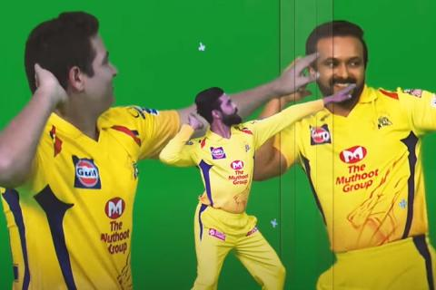 Catch CSK's Dhoni, Watson chill and dance behind the scenes