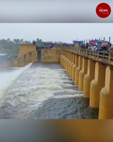 Cyclone Nivar: 1000 cusecs of water released from Chembarambakkam lake