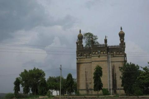 A Eidgah in the Sangareddy of Telangana