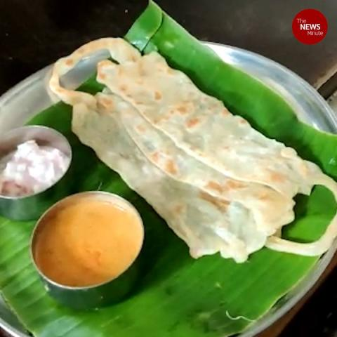 Tamil Nadu hotel shoots to fame for its 'face mask' parotta