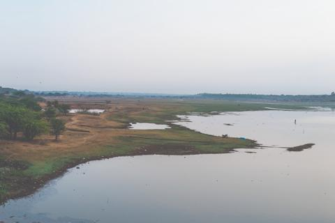 The Hesaraghtta Grassland and the lake