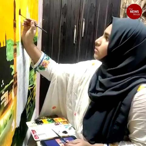 Hyderabad school girl's paintings to adorn walls of London restaurant