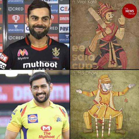 From Kohli to Dhoni, this Bengaluru studio has given popular cricketers a folk touch