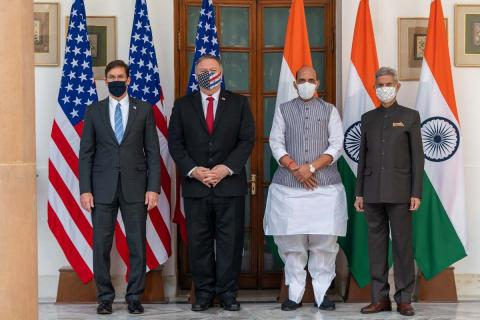 India-US counterparts after the meeting