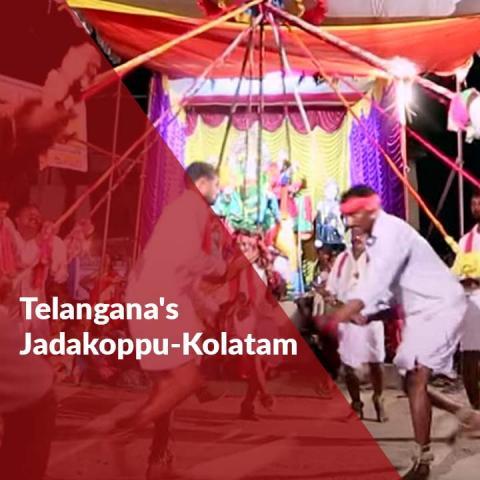 Telangana's Jadakoppu-Kolatam: A unique celebration of folklore and labour