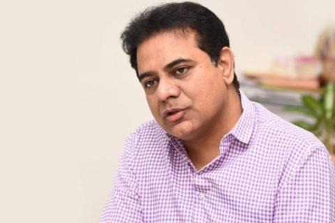 Telangana Minister and TRS Working President KT Rama Rao