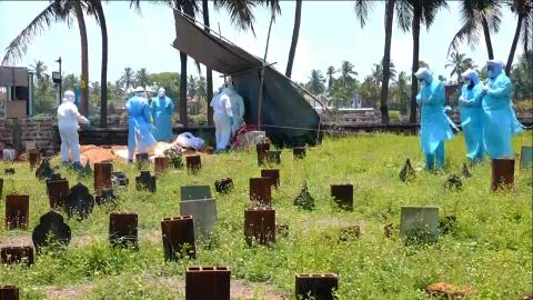 How a Kerala cemetery became the final resting place for victims of deadly diseases.