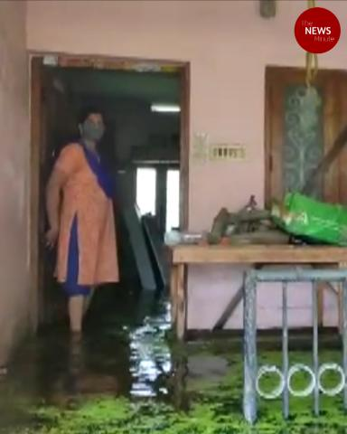 Septic waste, snakes: What rains bring inside these houses in Kerala