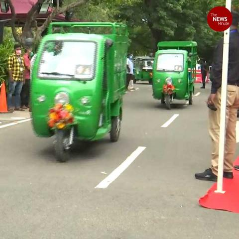 Tamil Nadu rolls out solar M Autos to be driven by women