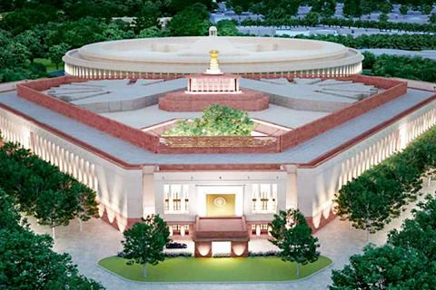 File photo of New Parliament building