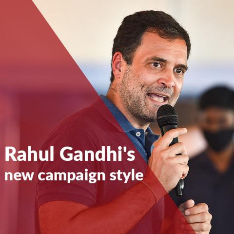 Dance, diving, pushups: Rahul Gandhi's new campaign style in south India