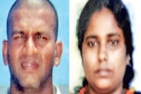 Rajesh Kanna and Meghala