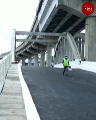 Renovated Chambakkara 4 lane bridge thrown open to public in Kochi