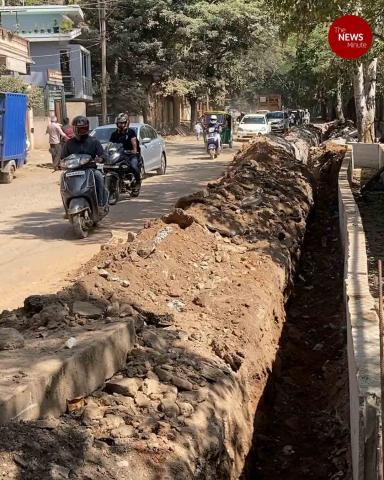 Bengaluru residents suffer as many roads in shambles