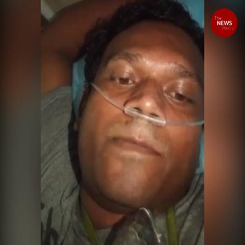 'Can't breathe': Hyd COVID-19 patient's video before death triggers row