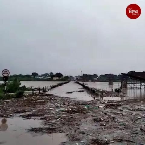 Flash floods in north Karnataka, roads, fields inundated