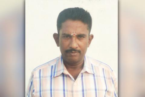 Suresh, the Madurai loco pilot, who was awarded Anna Gallantry award for averting train accident.