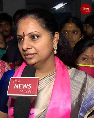 'BJP busy propagating evils in Hyderabad': TRS leader Kavitha interview