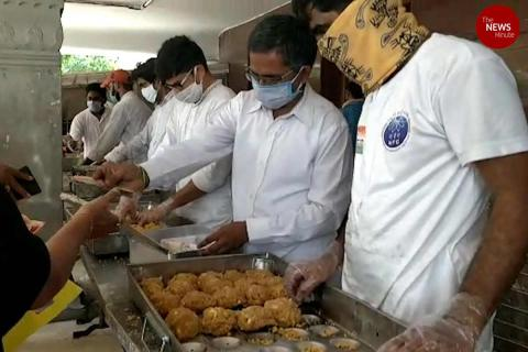 55,000 Tirupati laddus sold in Hyderabad on first day of sale at subsidised rates
