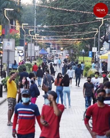 What traffic-free weekends at Bengaluru's Church street look like
