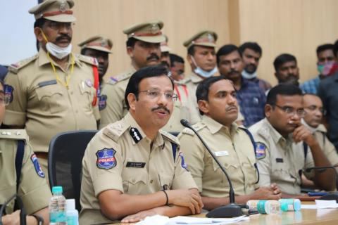 File photo: Cyberabad Commissioner VC Sajjanar