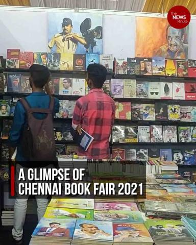 700 stalls and thousands of books: A glimpse of Chennai Book Fair 2021