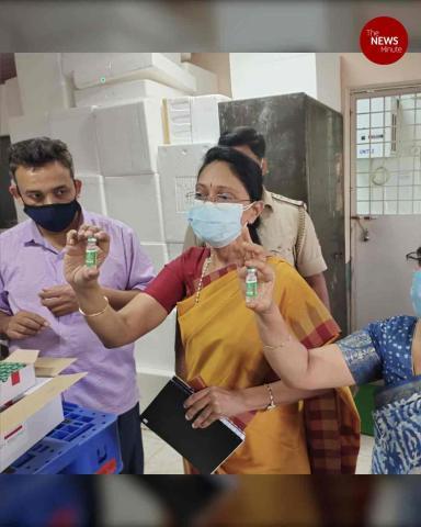 First consignment of SII's Covishield reaches Chennai, Hyderabad and Bengaluru