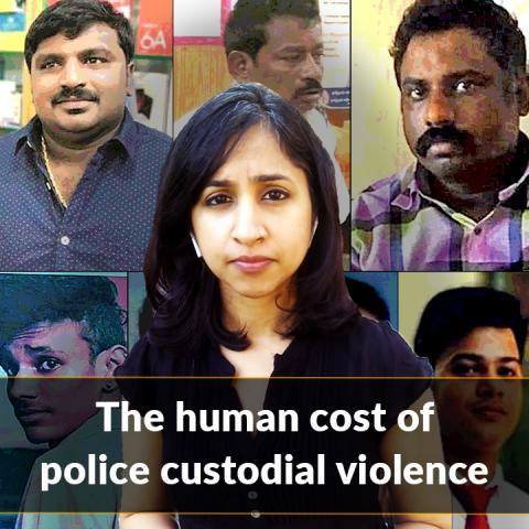 The monstrous shades of custodial violence and killing