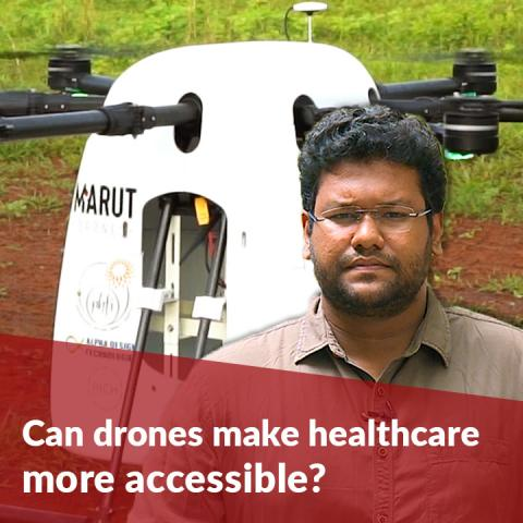 Can drones make healthcare more accessible? A look at Telangana's 'Medicine from the Sky' project