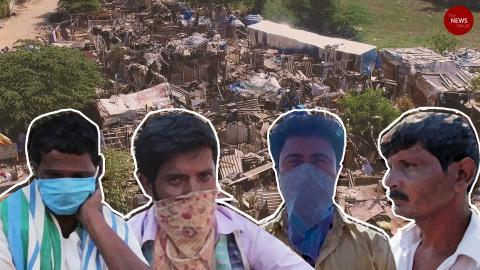 Homes demolished amid lockdown, residents of a Bengaluru slum seek help from govt