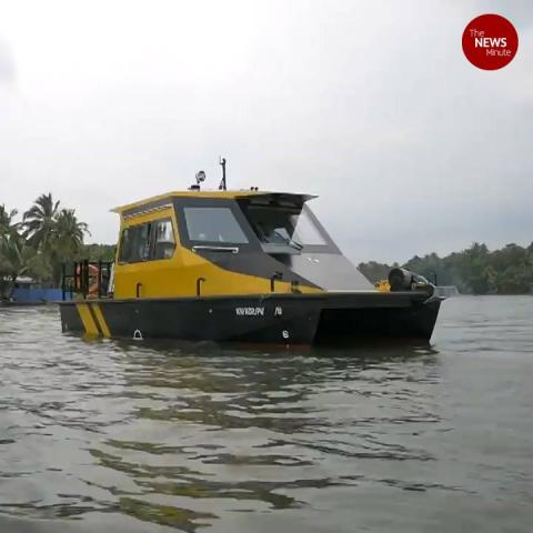 Kerala's first water taxi service launched in Alappuzha