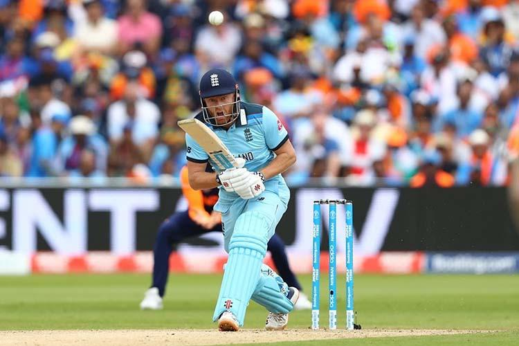 Bairstow century leaves India with daunting chase of 338 in World Cup match