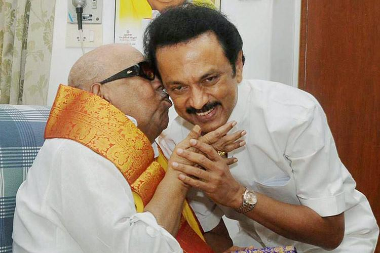This one time can I call you Appa Stalins emotional letter to Karunanidhi