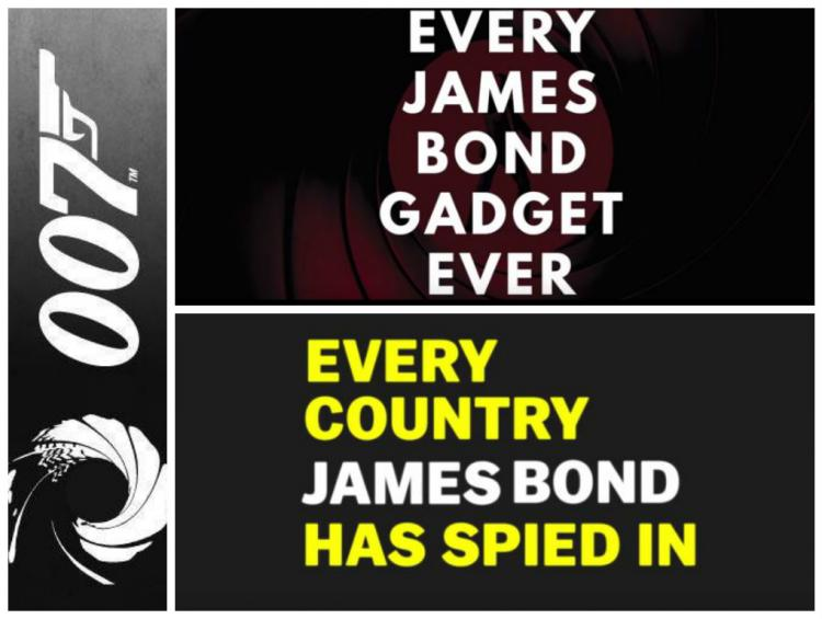 Travel and gadgets The awesome life of James Bond in two videos