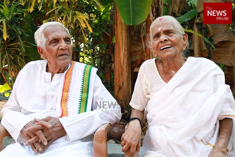 Hes 100 shes 99 Meet the Kerala couple celebrating 82 years of marriage