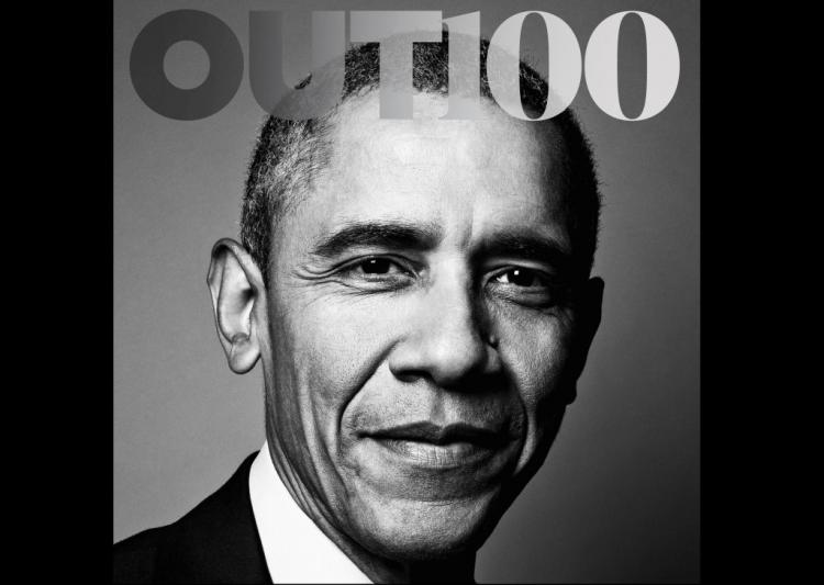 Americas prominent gay magazine gets Obama on its cover