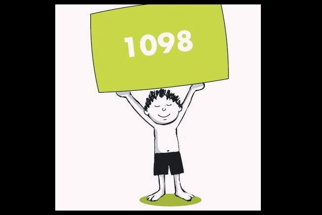 Its a hoax There is no Dial 1098 scheme to distribute excess food to needy children