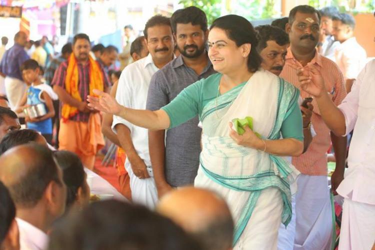 Thrissur has always been a Karunakaran stronghold says UDF candidate Padmaja Venugopal to TNM