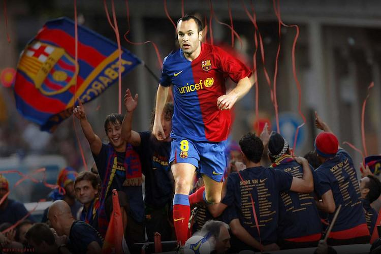 Barcelona honours long-time captain Andres Iniesta as he bids adieu