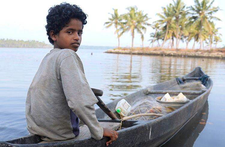 At 15 this Kerala student is clinging on to a fishing net to run his 4-member family