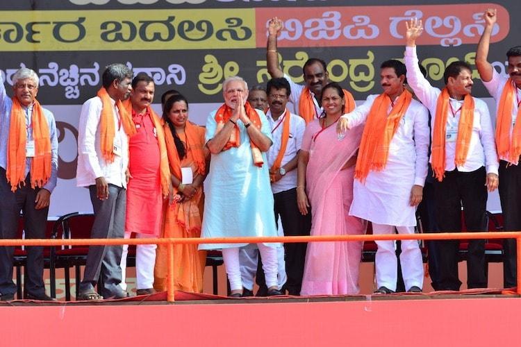 Shameful how BJP activists were murdered Modi attacks Congress on Udupi visit