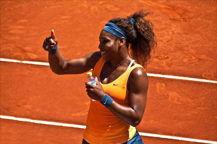 Serious life goals Serena Williams won a grand slam when she was pregnant