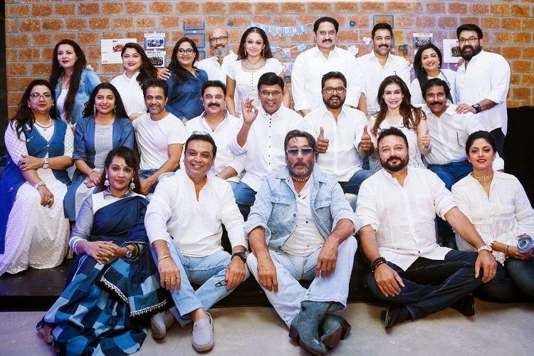 mohanlal makes it to the 1980s stars reunion this year the news