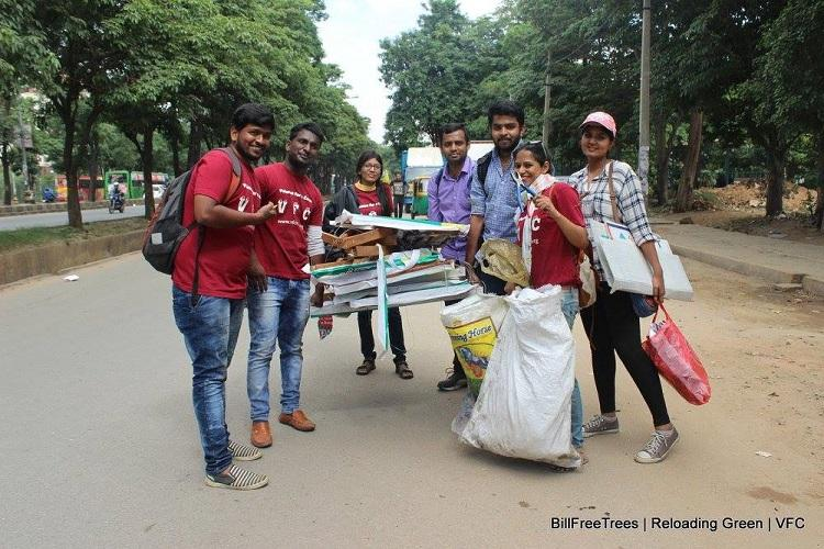 Saving trees one locality at a time this group of young Bengalureans is on a mission