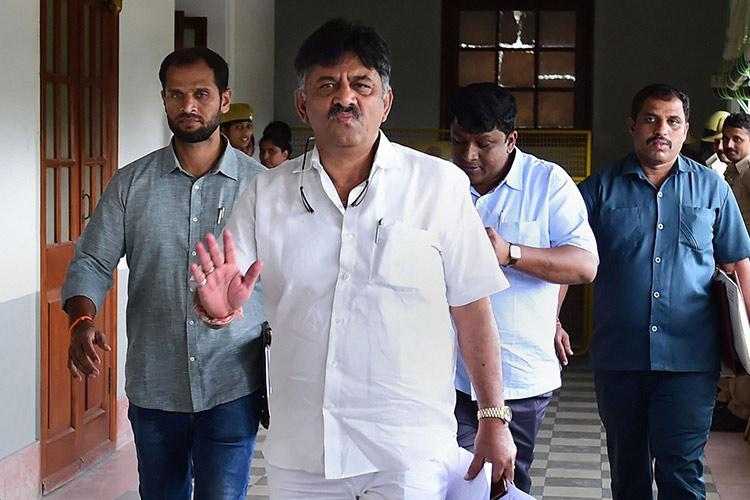 BJP is organising your political funeral DK Shivakumars last-min appeal to rebel MLAs