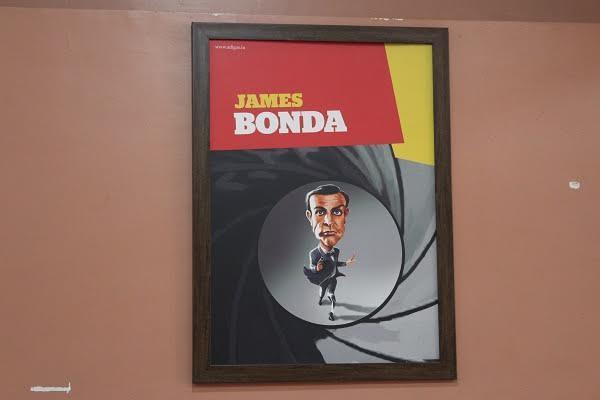 This Bluru restaurant where Bonda James Bonda meets The Good The Bad and the Idly